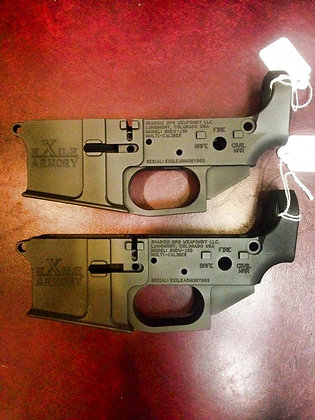 Exile Armory billet lowers
