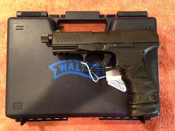 Walther PPQ Navy 9mm threaded barrel