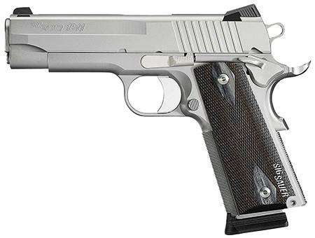 Sig Sauer 1911 .45 stainless