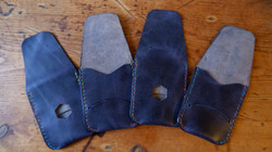 Blue card holders