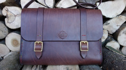 Chocolate Large satchel