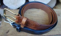Chestnut & Black belts