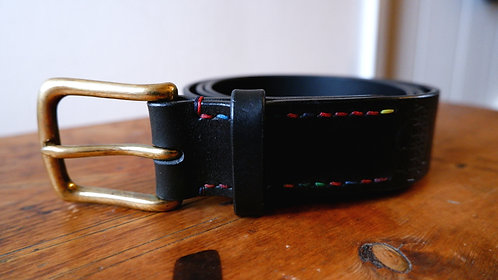 Ready to Post - 1 1/2 inch wide - Black Belt