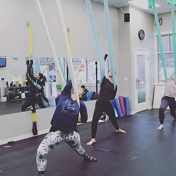 Yoga Lily Studio Aerial Yoga Group