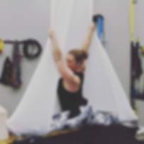 Yoga Lily Studio Aerial Yoga Pose