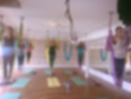 Yoga Lily Studio, Aerial Yoga Party