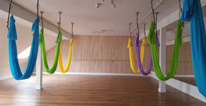 Yoga Lily Aerial Video: Spotlight on Partner Aerial Yoga