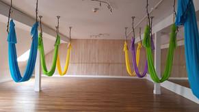 Yoga Lily Aerial Video: Spotlight on Partner Aerial Yoga