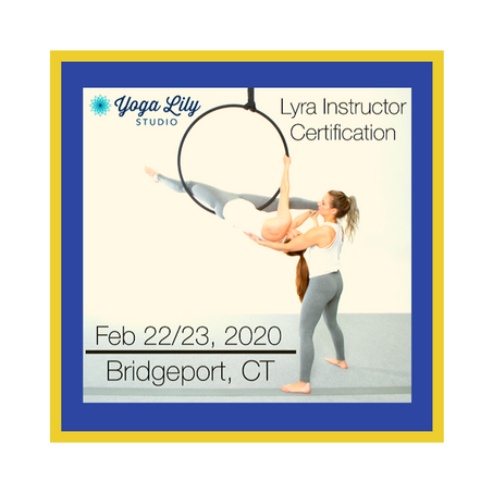 CirqFit Lyra Teacher Training hosted by YL Bridgeport