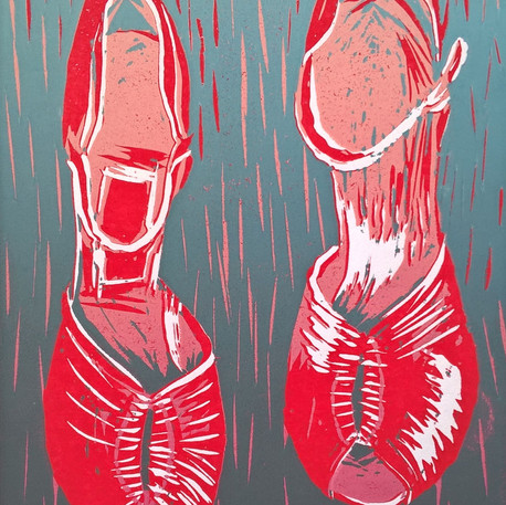 Family Portrait: Red Shoes.
