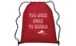 Screen Printed Swag Bag