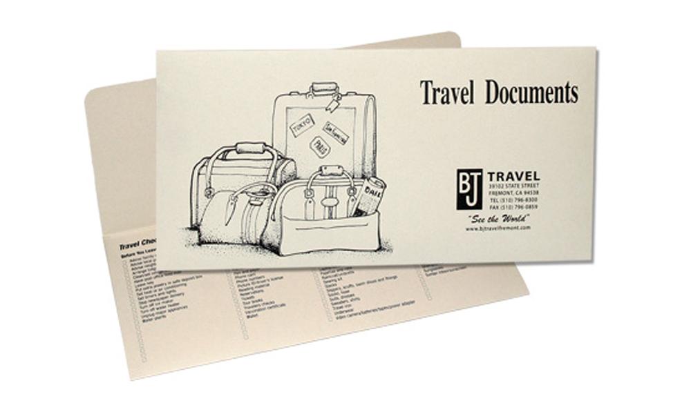 Travel Folders