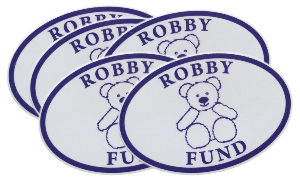robby fund decals