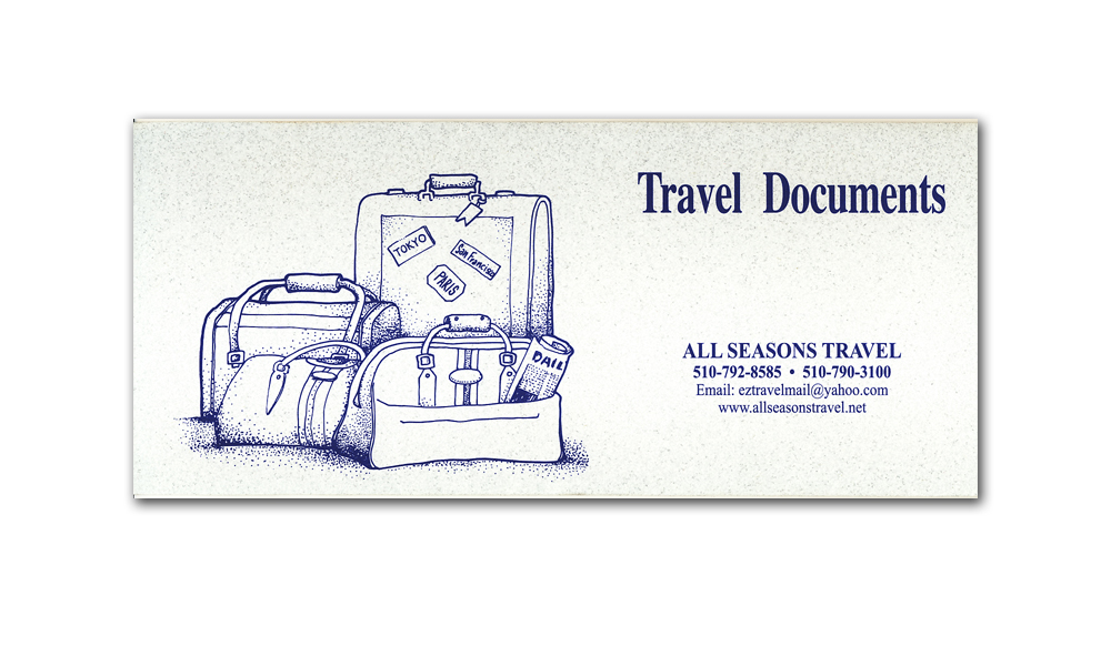 Travel Documents Folder