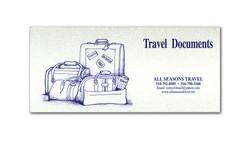Travel Documents Folder