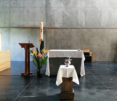 Altar Igreja Convento_12.Abril.2020