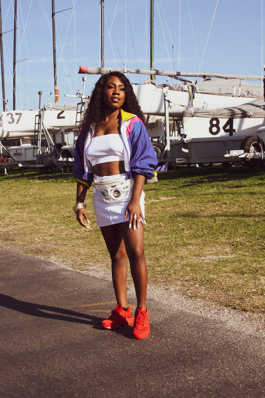 Fashion Retro Windbreaker Nike Huarache