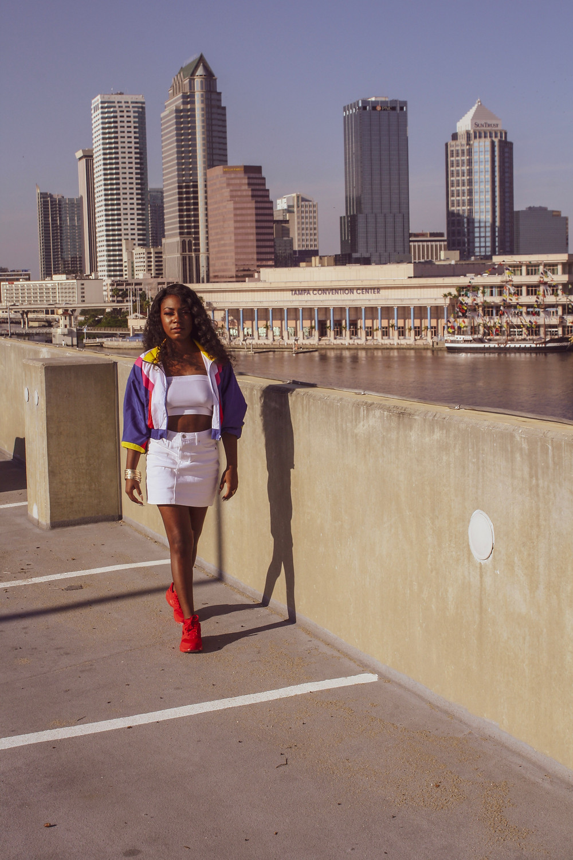 Black Fashion Blogger Nike Huarache