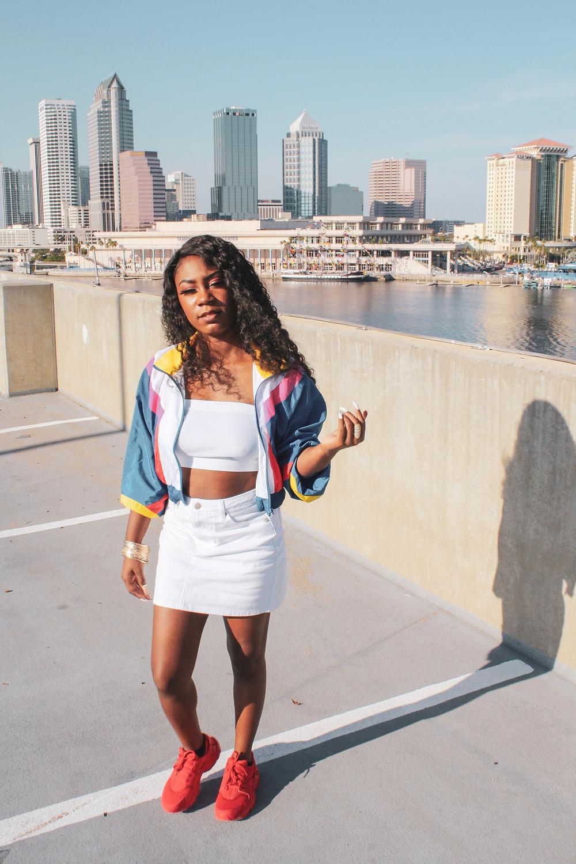 Fashion Blogger Nike Huarache