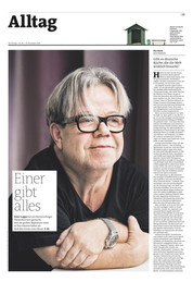 """Peter Luppa für """"der Freitag"""""""