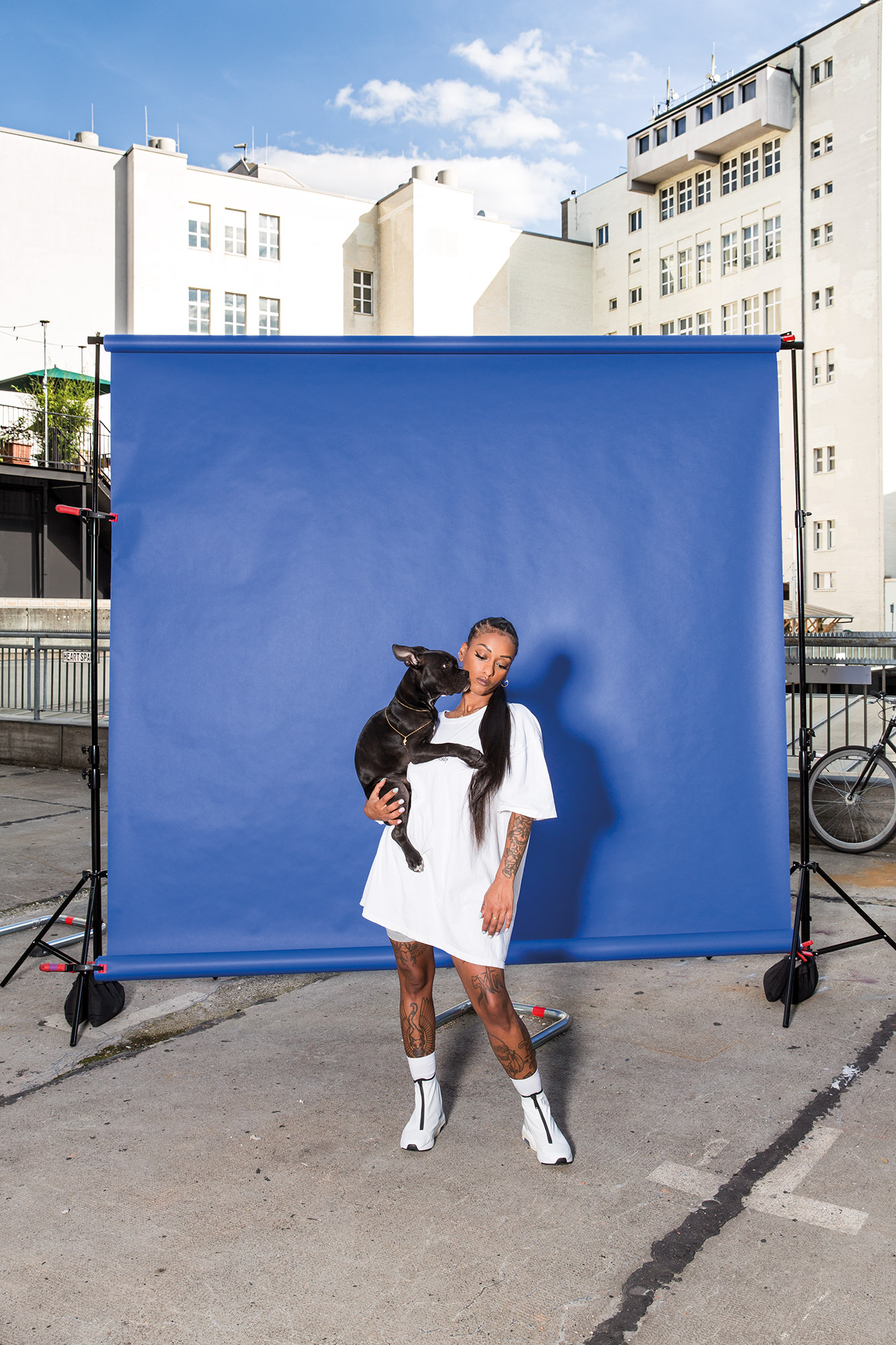 Nura - Covershooting für Missy Magazine