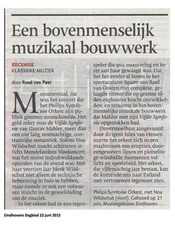 Eindhovens Dagblad 22 juni 2015