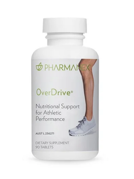 Athletic Performance Support - Overdrive (90 Capsules)