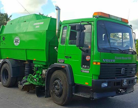 Guyana Road Sweeping