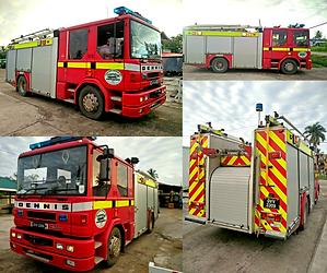 Guyana Fire Truck Puran Bros