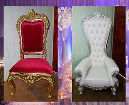 Puran Bros Bride Groom Wedding Chairs Guyana