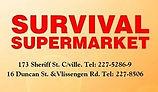 Survival Supermarket Guyana