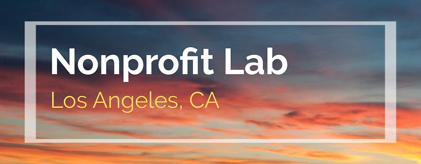 2020 Noprofit Conference Los Angeles
