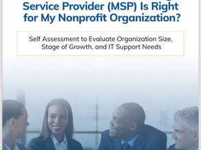 How Do I Know If An MSP Is Right For My Organization?