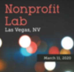 Nonprofit Lab - Las Vegas, NV March 11,2020