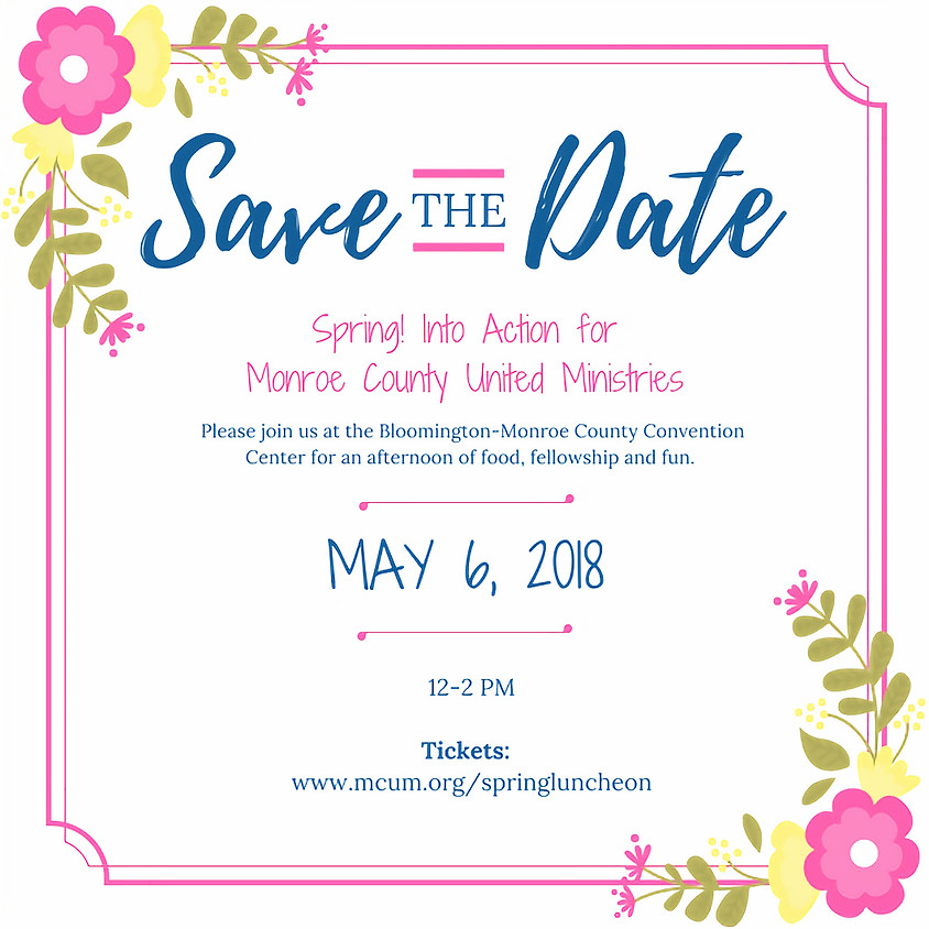 Monroe Co United Ministries:  Spring Luncheon & Auction