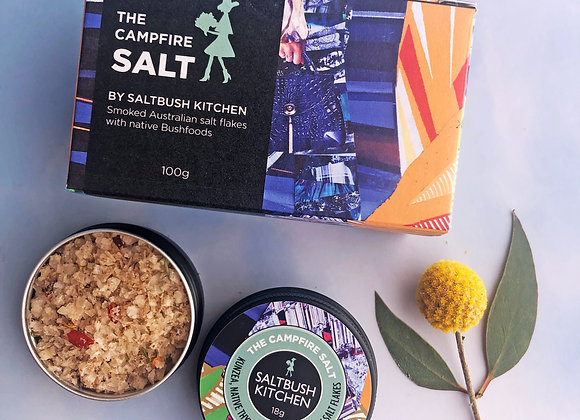 The Campfire Salt with Smoked Victorian Salt Flakes & Australian Botanicals - 10