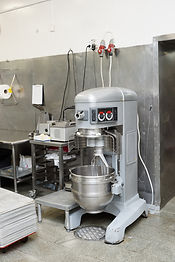 Heavy duty dough mixing machine in profe