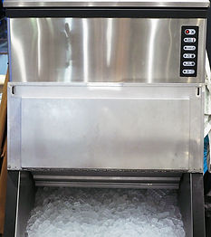 An ice making machine which placed in mo