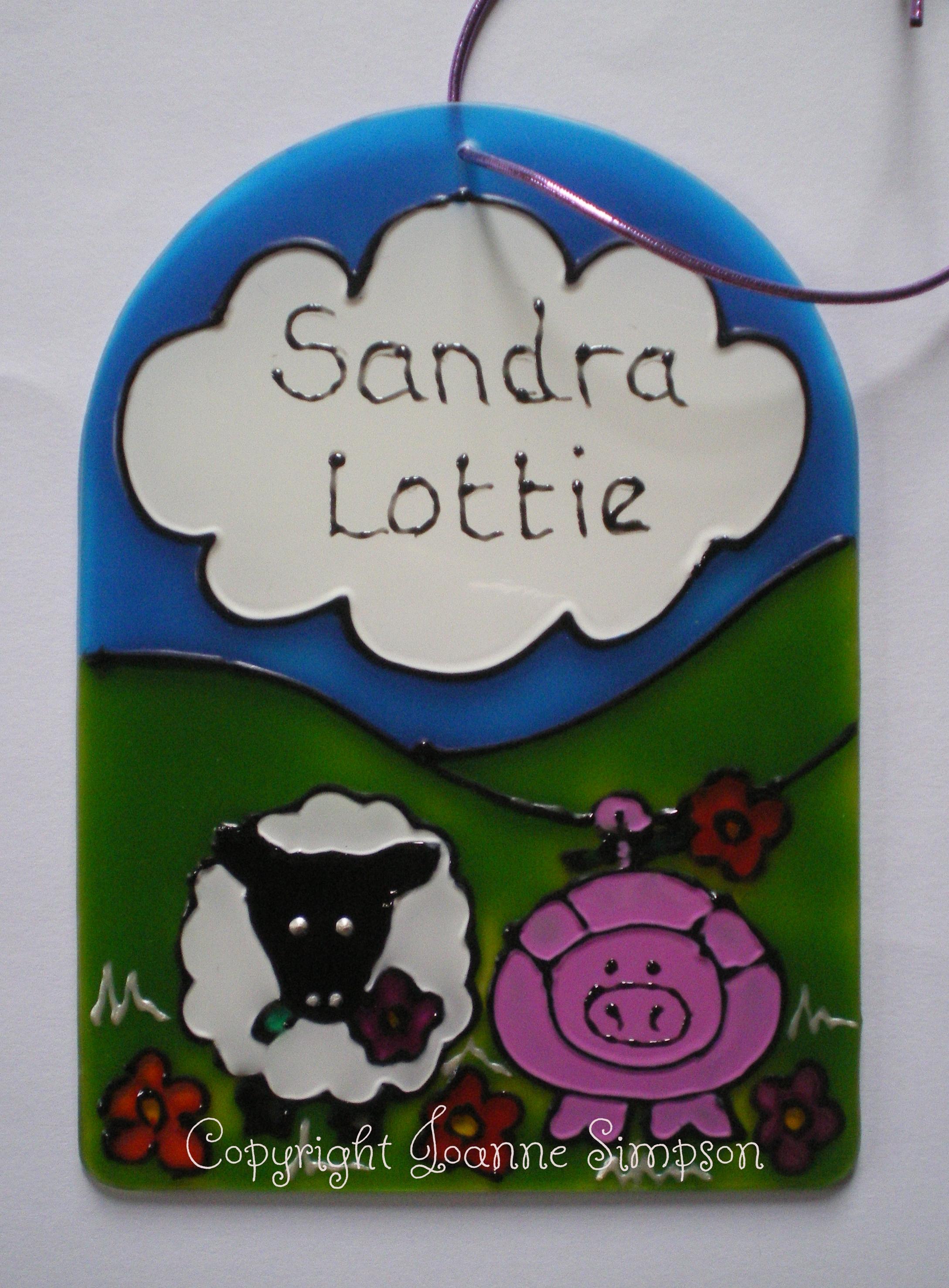Sandra and Lottie