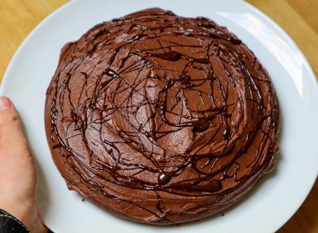 Small Vegan Chocolate Cake Recipe