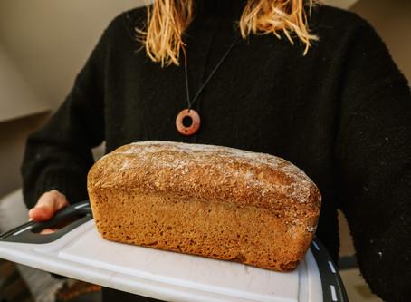 Easy No-Knead Wholemeal Bread Recipe