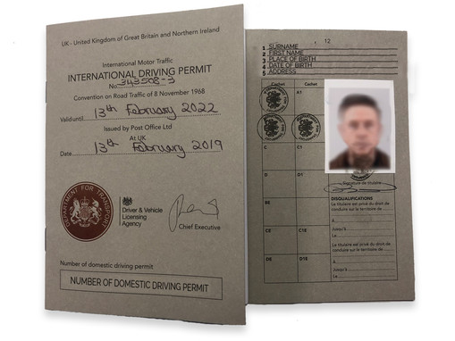 Everything you ever wanted to know about... applying for an IDP (International Driving Permit)