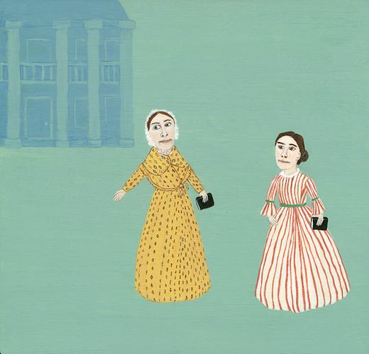 Grimke Sisters, 1830's