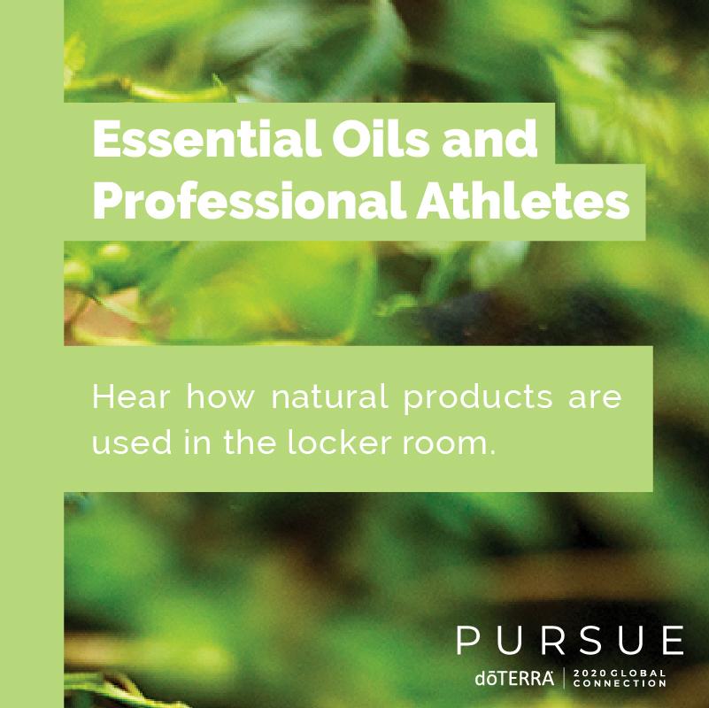 Essential Oils & Athletes