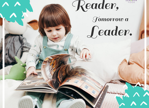 Today a reader, tomorrow a leader!