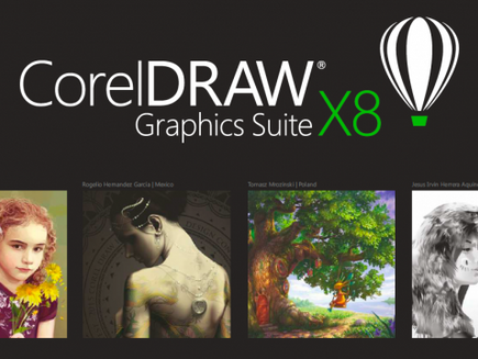 CorelDRAW Graphics Suite X8 - Explore todas as possibilidades!