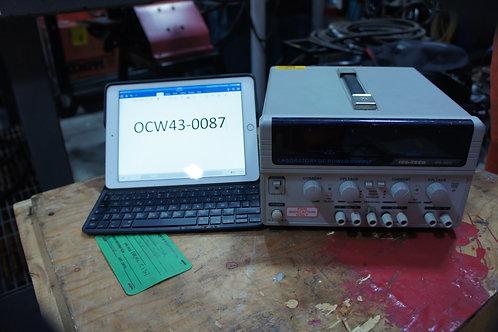 ISO TECH,   Dual Power Supply, 0-30VDC