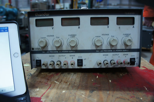 Thander Dual Bench Power Supply, 0-30VDC