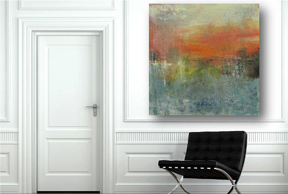 Original modern abstract paintings