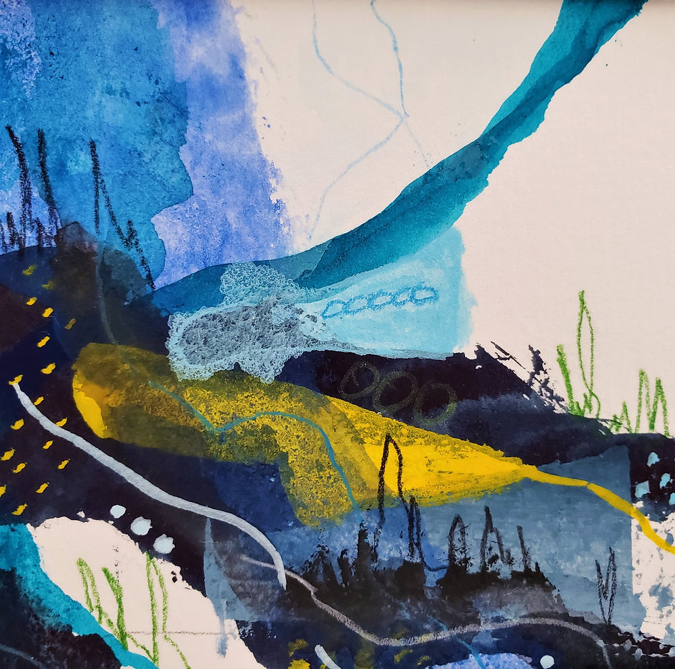Abstract Art inspired by nature